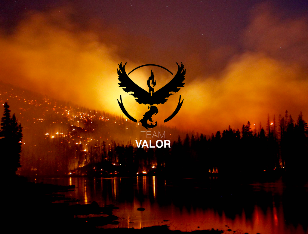 Team Valor Wallpaper (2 Of 2) By