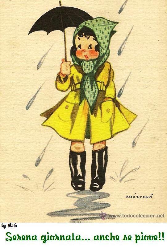 Serena giornata... anche se piove!