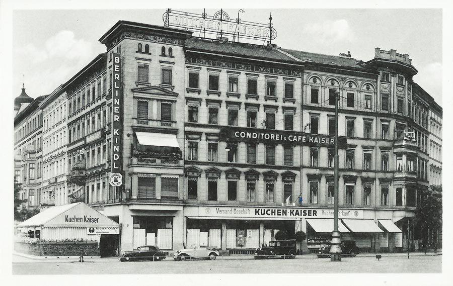 Vintage ca Konditorei und Kaffe Kaiser Berlin Oranienplatz
