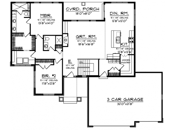 de1858aa4bcf837d5b2379aab8f2b9f6 Rambler House Plans One Level on ranch rambler floor plans, very simple house plans, one level colonial house plans, ranch house plans, one level contemporary house plans,