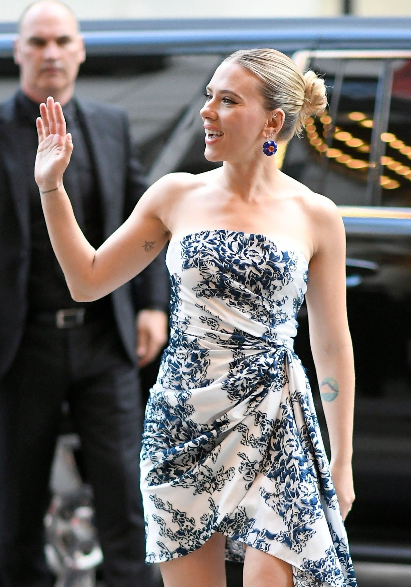 Scarlett Johansson at Marriage Story premiere at Toronto