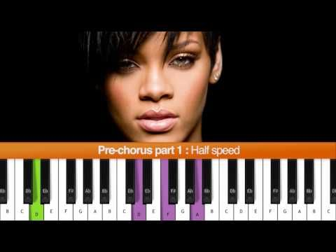 How To Play Stay Rihanna Ft Mikky Ekko Piano Tutorial With