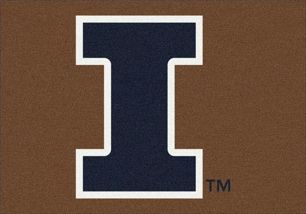 Illinois Rug University Team Spirit