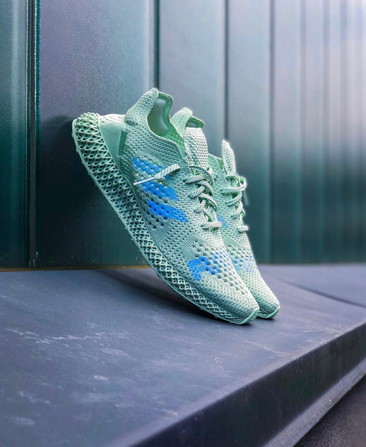 the latest 45a3e d724f Daniel Arsham x adidas Futurecraft 4D | Shoe Photography in ...