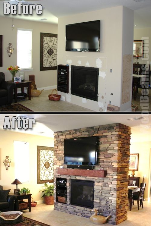 Tuscany Faux Stone Fireplaces Diy Mantel Home