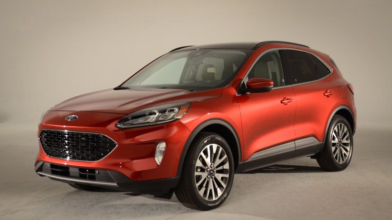 2020 Ford Escape Debuts With A Complete Redesign And A Phev