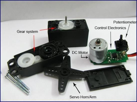 Servo motor overview electronics pinterest arduino for How a servo motor works