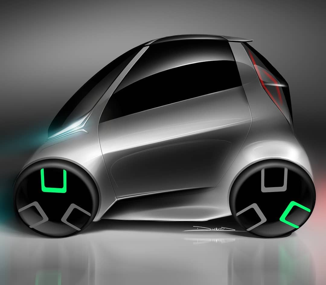Electric Bubblecar Ev Microcar Hatchback Freelance 2017 2door 2seater Electriccar Electricvehicle Eco Sustaility Green