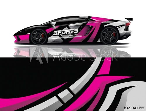 Sports car wrapping decal design , #Affiliate, #car, #Sports, #wrapping, #design, #decal #Ad