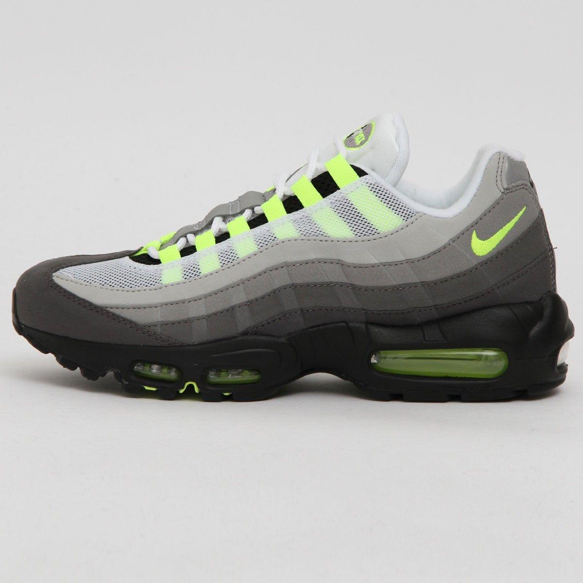 promo code 998d2 a3e0a Nike Air Max 95 OG    Neon  Black Volt . 2015. 554970-071.