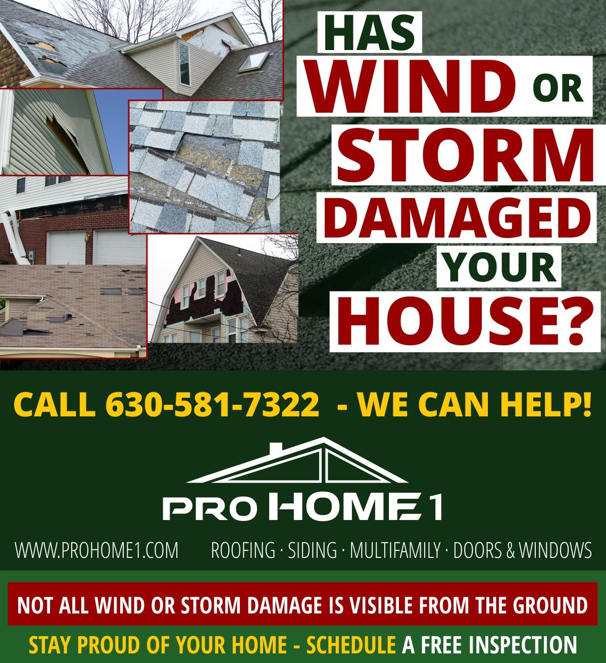 Roofing Emergency Has A Wind Storm Damaged Your Roof Call Our Emergency Services At 630 581 7322 Emergencyroofing Stormda Roofing House Call Roof Repair