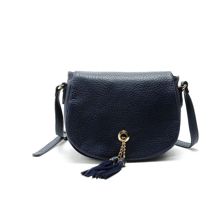 YUOCL 2016 NEW Women LEATHER Shoulder Bag 100% Cowhide Crossbody bags Fold  Over handbag girl Fashion b10d76030b019