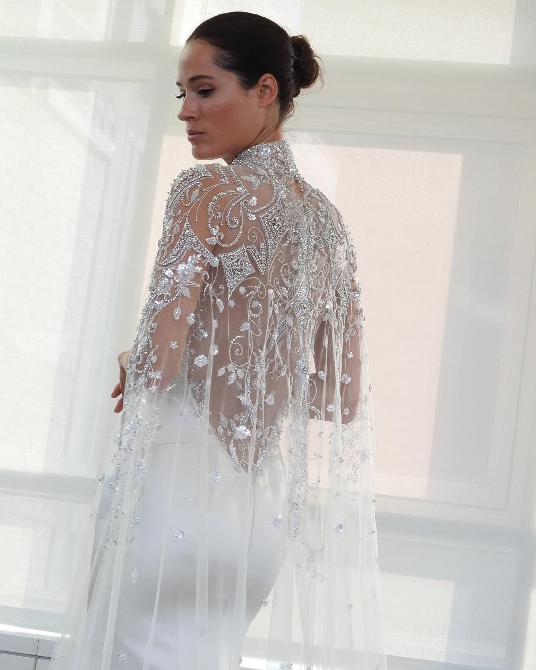 All the biggest wedding dress trends for u sleeves capes