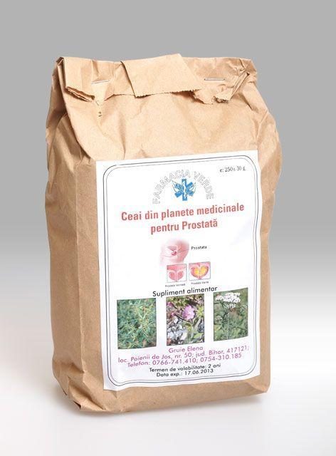 Ceai din plante pentru prostata