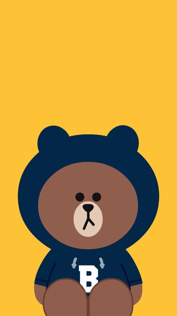 Pin Oleh Boaiizz Shim Di Brown Cony Beruang Coklat Seni Abstrak Seni Animasi