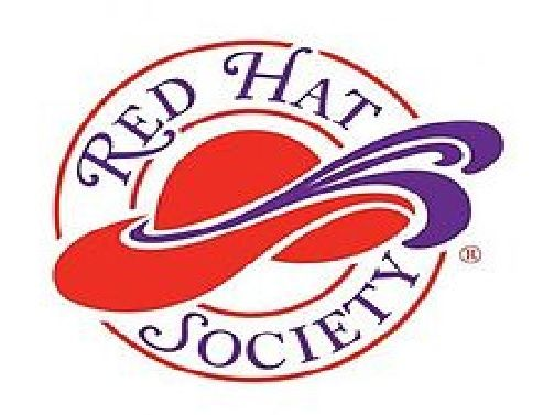 https://en.wikipedia.org/wiki/Red_Hat_Society   The Red Hat Society (RHS) is a international social organization originally founded in 1998 in the United States for women age 50 and beyond, but now open to women of all ages. Today, there are over 20,000 chapters in the United States and over 30 other countries.