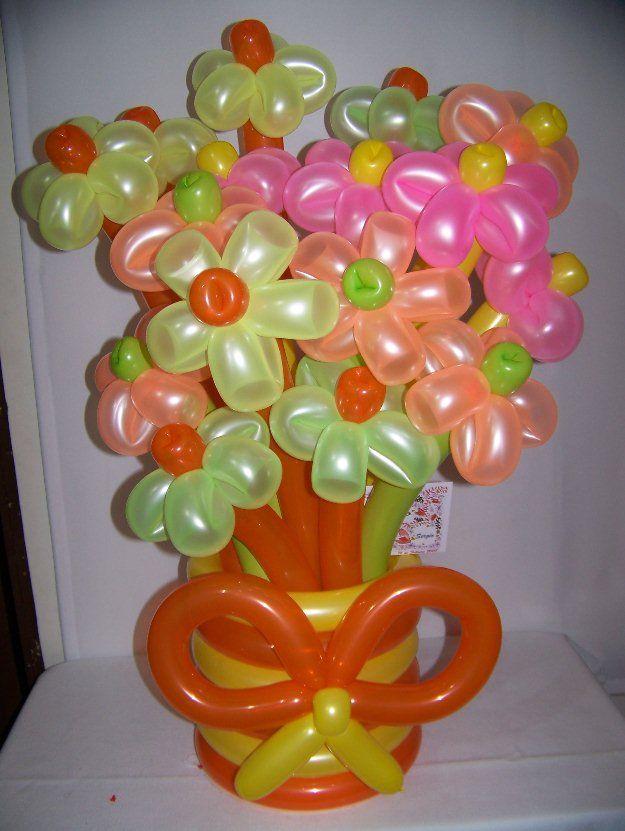 1357268883 469370712 14 curso arreglos y centros de mesa - Centros de mesa con globos ...
