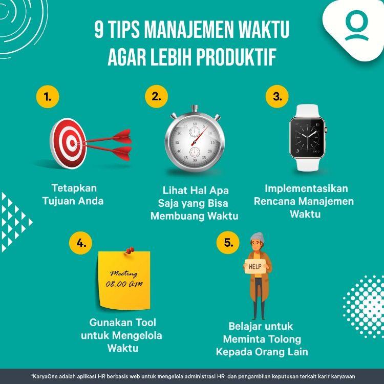 9 Tips Manajemen Waktu Tips Manajemen Manajemen Waktu Startup