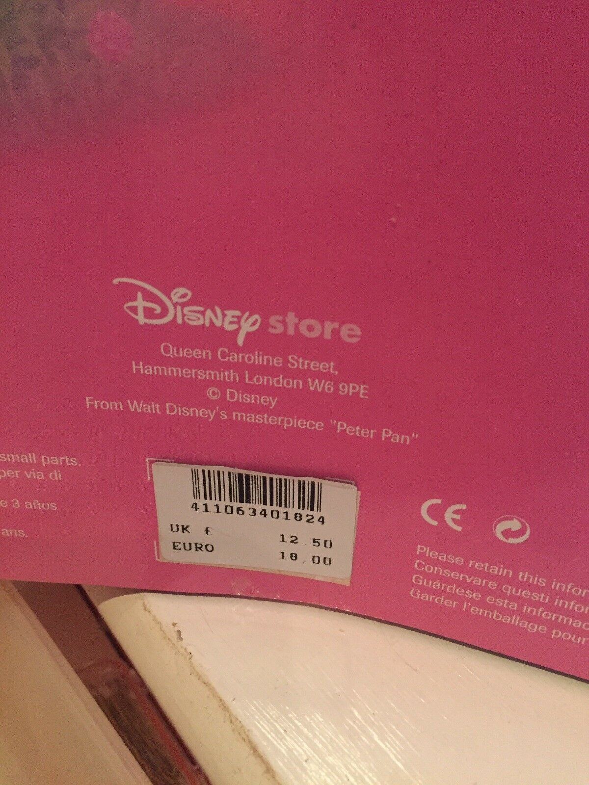 Disney Store Tinkerbell Doll With Dressing Table  Christmas | eBay
