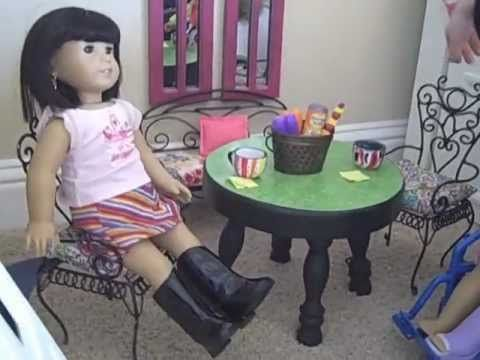 How To Make A Table And Chairs For Your Dolls Materials
