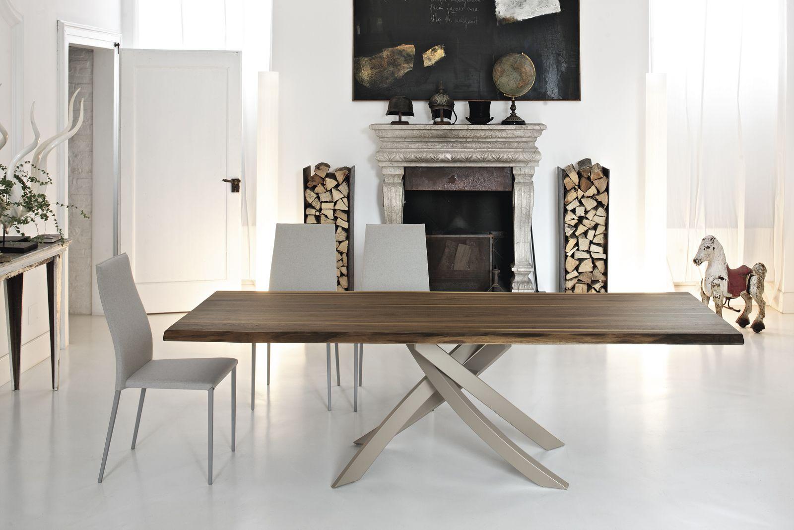 Tavolo Salvaspazio ~ Tavolo allungabile design moderno friulsedie boston