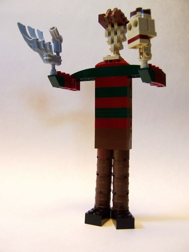 Freddy Krueger | The 21 Coolest Things Ever Made Out Of Lego ...