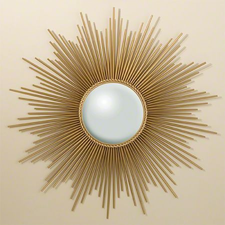 Sunburst Mirror With Skewers Espejos Manualidades De Decoracion Cuadros Decorativos