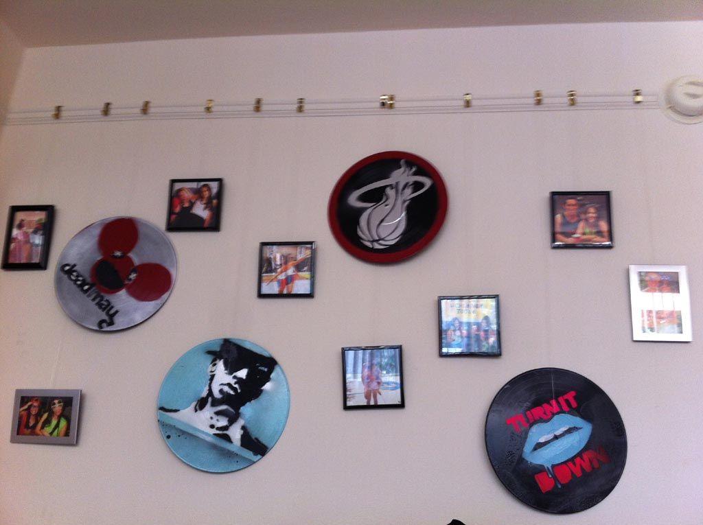 Vinyl Record Wall Art Ideas Vinyl Records Decor Record Wall Art Record Decor