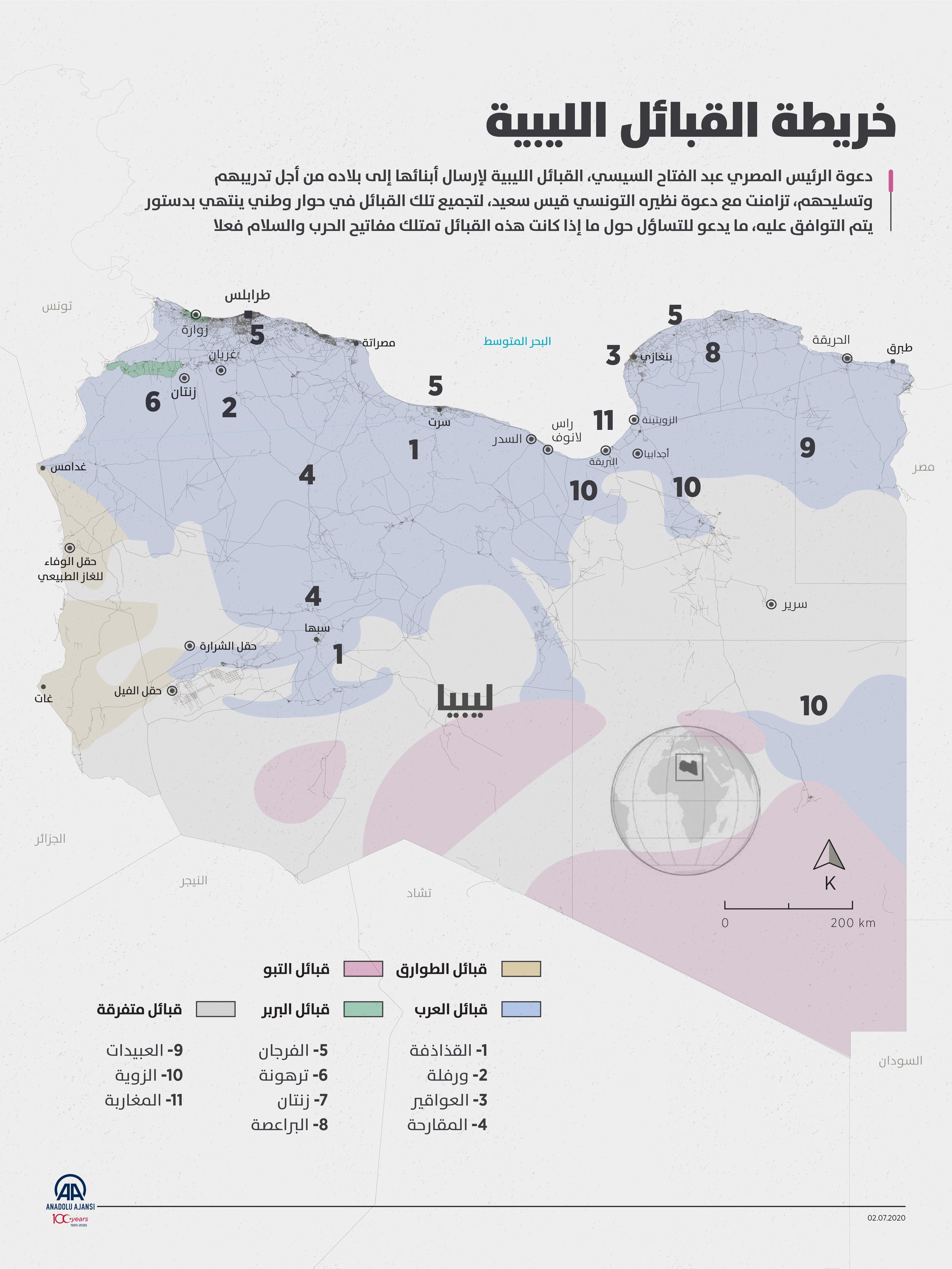 مدونة شمس خريطة القبائل الليبية Map Blog Blog Posts