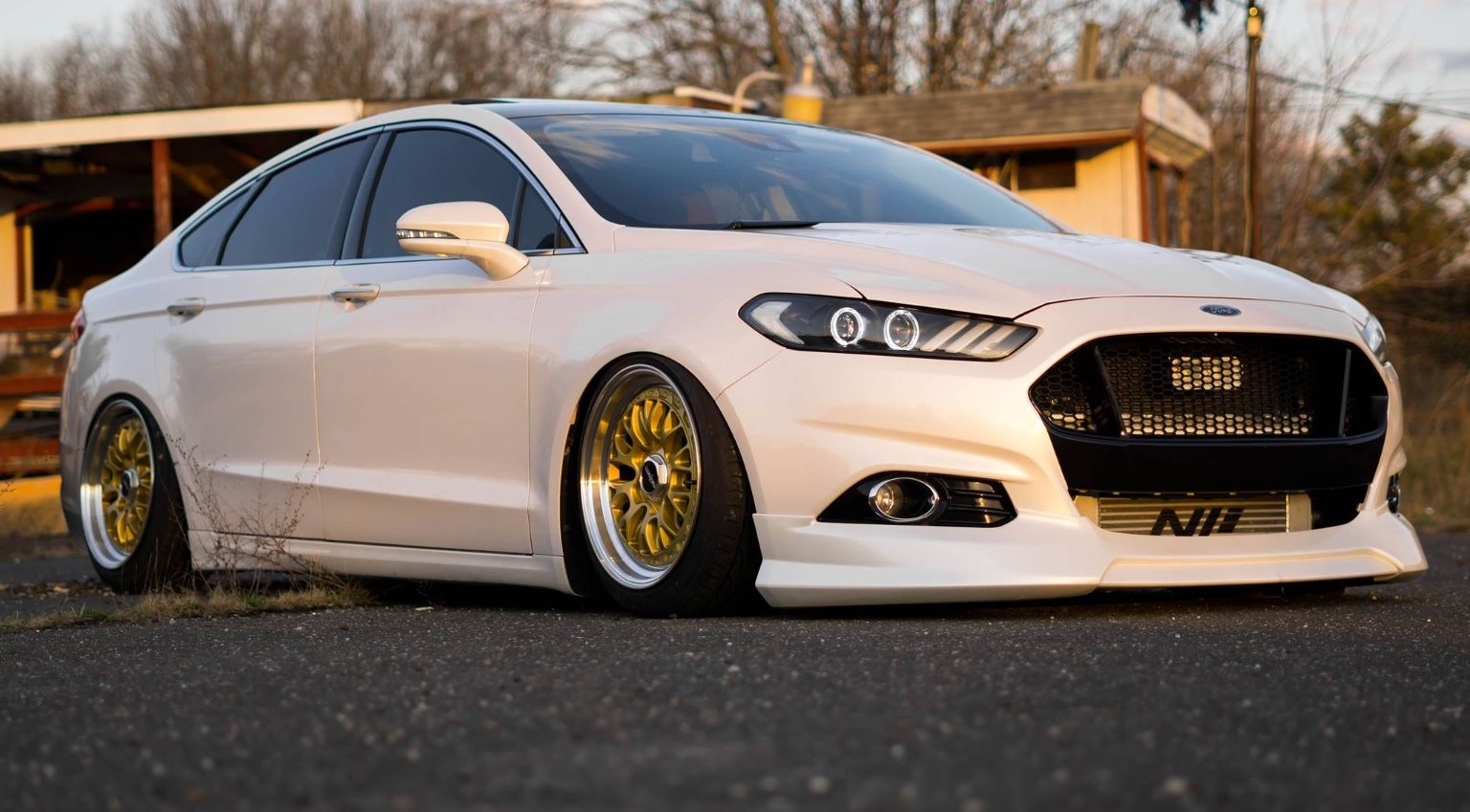 Pin By Bin Feng On Mondeo Art Ford Fusion Custom Ford