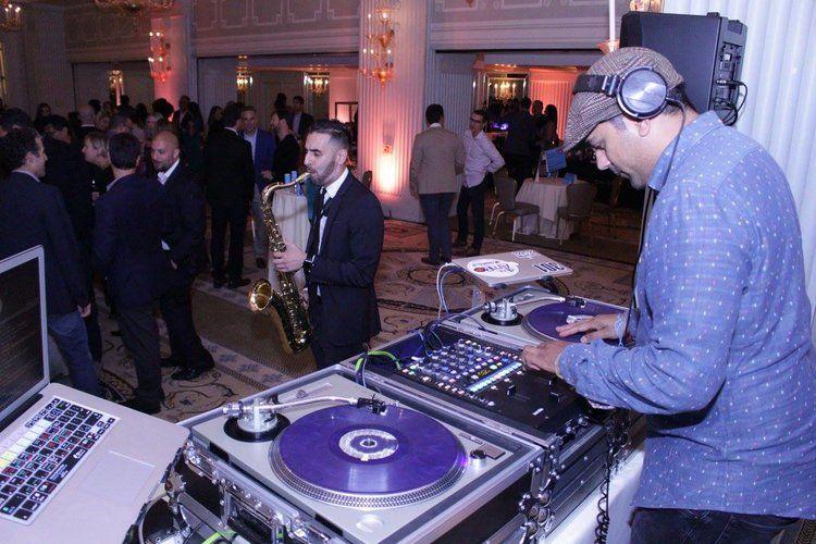 sax and DJ .jpg Dj school, Best dj, Team building activities