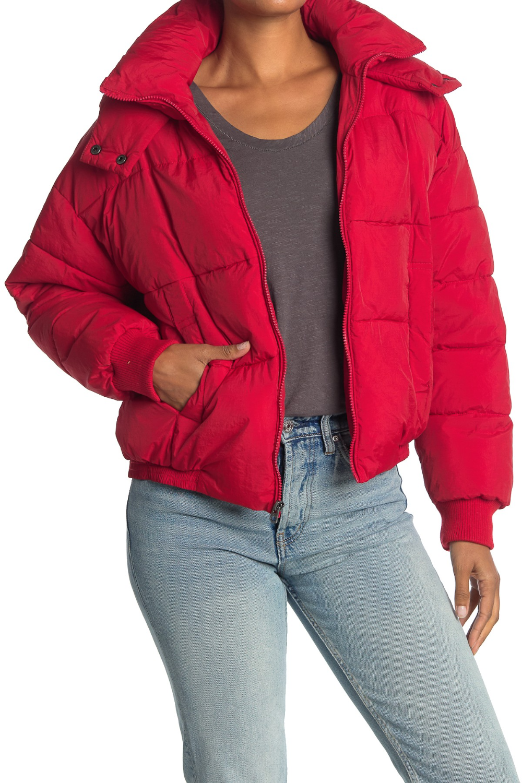 Lucky Brand Missy Short Puffer Jacket Nordstrom Rack Short Puffer Jacket Jackets Puffer Jackets [ 1500 x 1000 Pixel ]