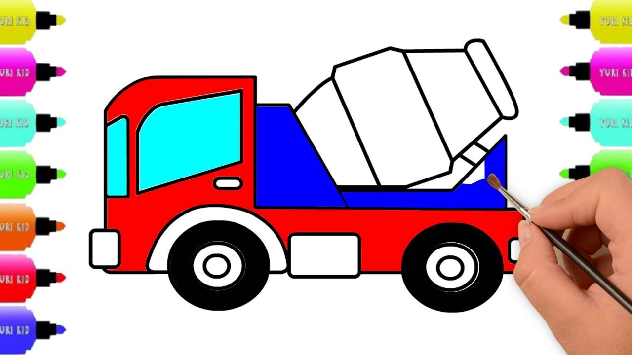 Lorry Truck Coloring Pages Vehicles Drawing Coloring Pages
