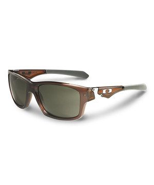 dba32ed4cf Another great find on  zulily! Polished Rootbeer   Dark Gray Jupiter  Squared Sunglasses - Men by Oakley  zulilyfinds