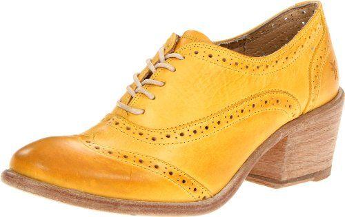 FRYE Women's Maggie Perf Wingtip Oxford, Yellow, 8.5 M US FRYE http://www.amazon.com/dp/B008BTRAR8/ref=cm_sw_r_pi_dp_YfRIwb0ZNH3ZT