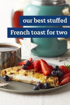 Our Best Stuffed French Toast for Two – Stuffed with Neufchatel cheese, brown sugar, and cinnamon, our Our Best Stuffed French Toast for Two recipe will soon be a weekend favorites! Ready in just 15 minutes.