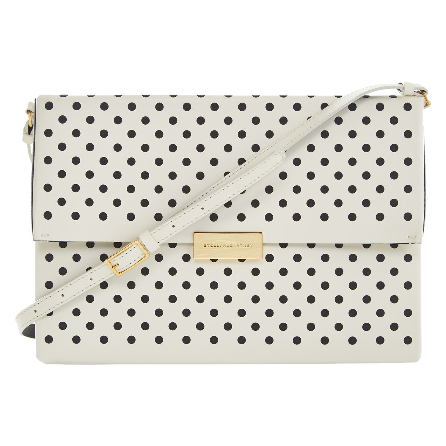 """Stella McCartney"" Cream Polka Dot Shoulder Bag - TK Maxx"