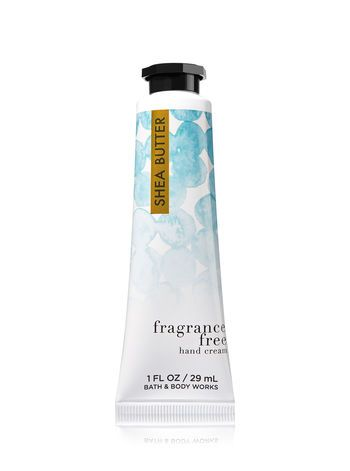 Signature Collection Fragrance Free Hand Cream Bath Body Works