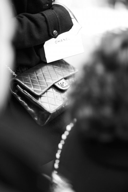Chanel AW12 Backstage
