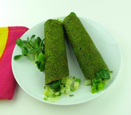 how to make wraps like sumo salad