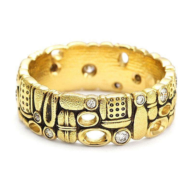 Alex sepkus diamond and 18k gold jewelry jewelry design