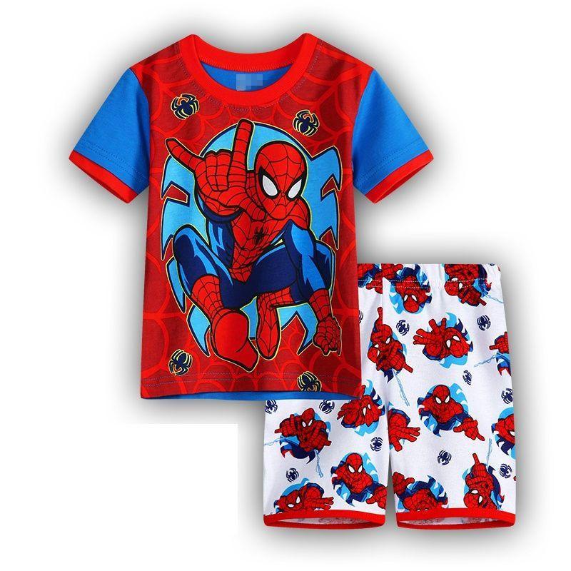 Summer kids clothes sets boy t-shirt+pants suit clothing set Clothes newborn sport