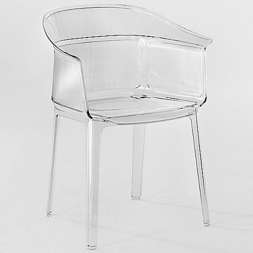 the kartell papyrus chair designed by the bouroullec brothers is an