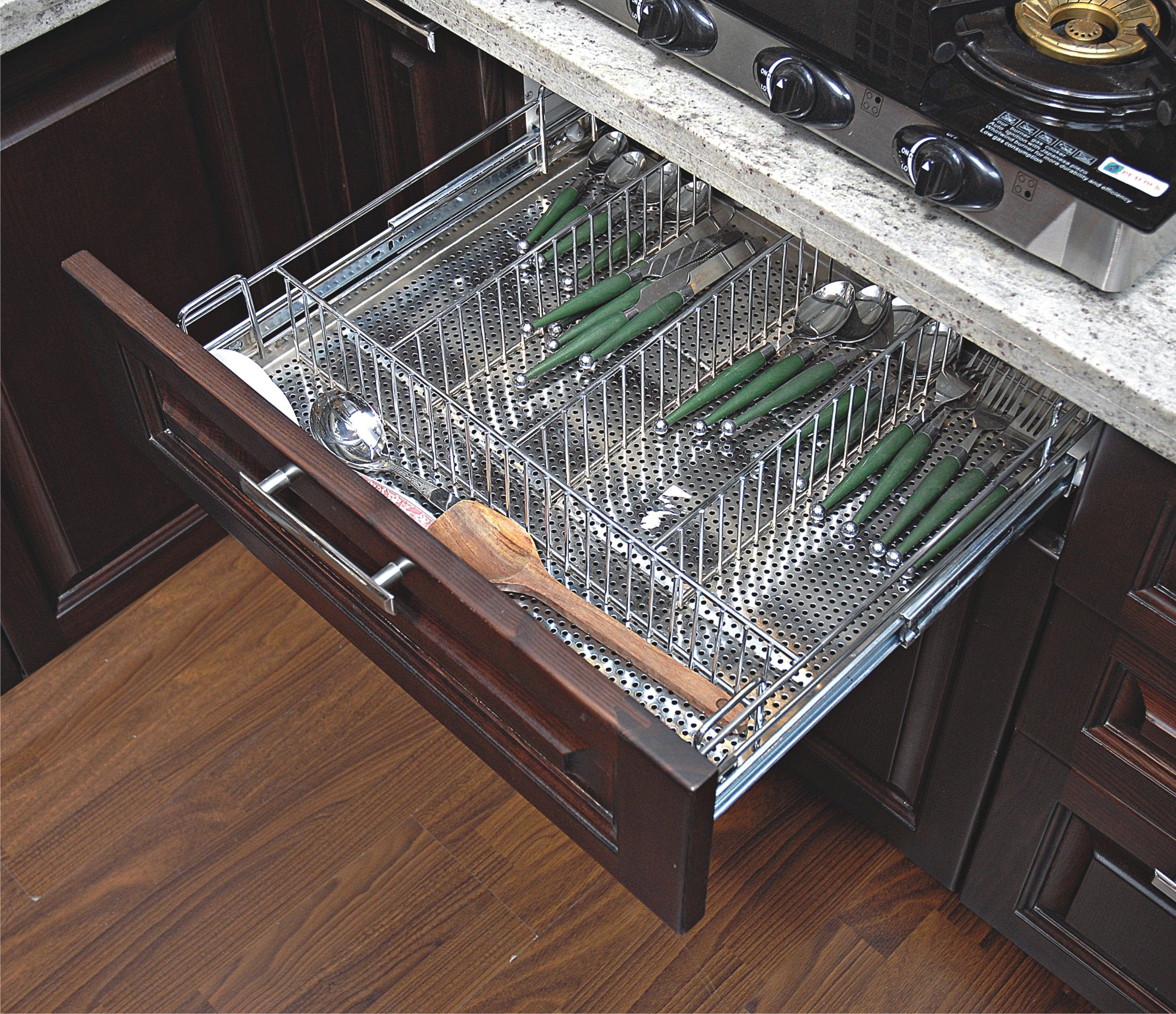 Stainless Steel Kitchen Basket Gives Your Kitchen A Classy Look Would You  Like To See Your