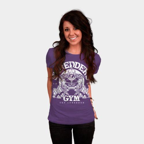 Shredders Gym womens shirt by BiggStankDogg http://geek.ragebear.com/f1gwr