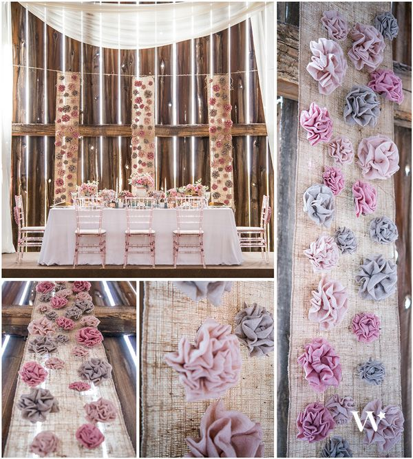 Wedding Trend Report Fabric Flowers The Details Wedding Trends Fabric Flowers Rustic Country Wedding