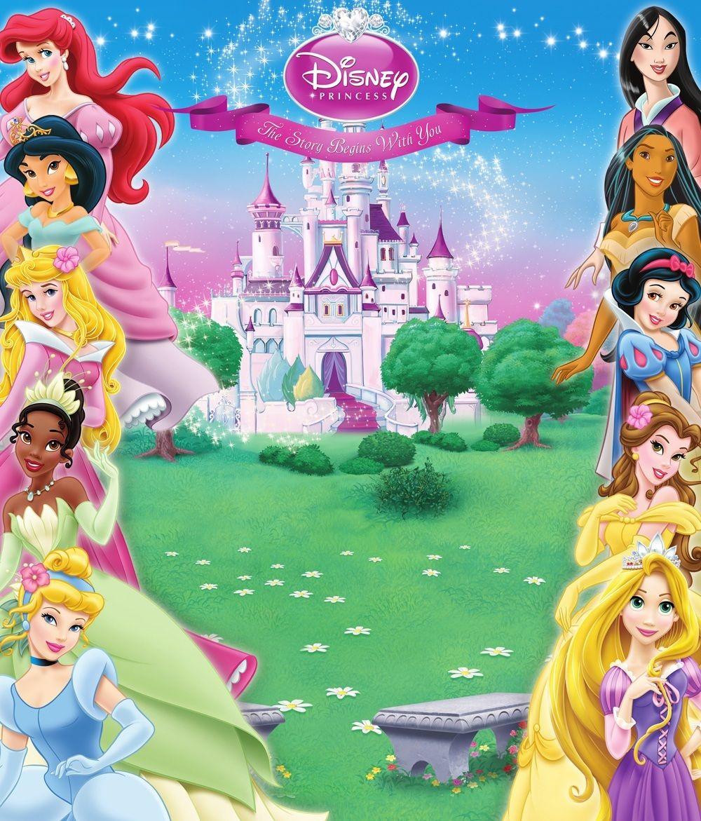 Disney Princess Background Disney Princess Invitations Disney