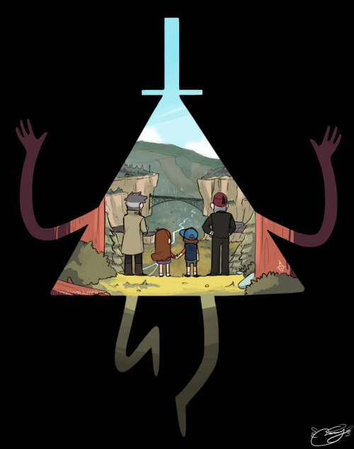 Gravity Falls | The Pines | Bill Cipher