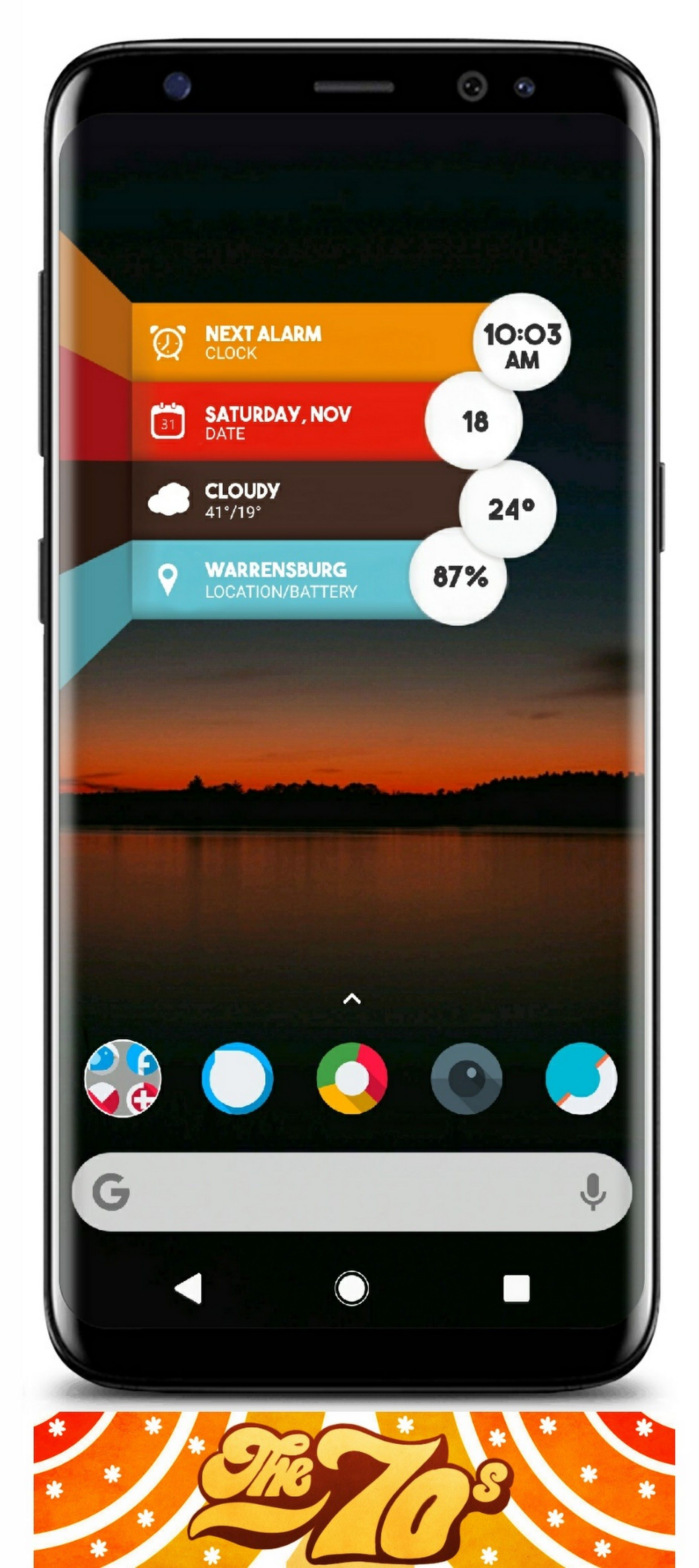 Pin by Ronald Webb on Home Screen | Nova launcher, App ui