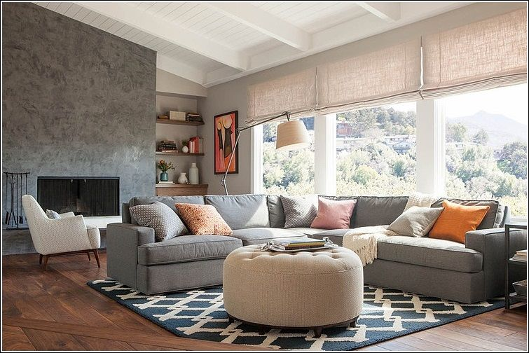 Charmant Architecture Ottoman For Living Room Inspirational In Ottomans Rooms Idea 19
